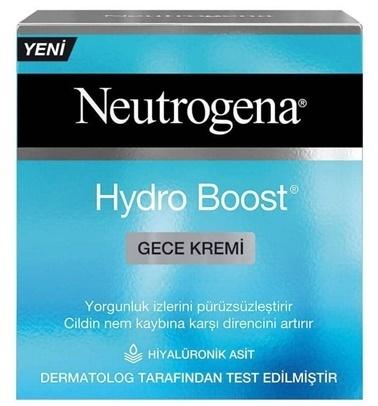 Neutrogena Neutrogena Hydro Boost Gece Kremi 50 ml Renksiz